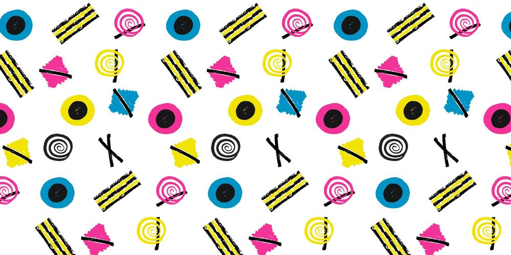 Seamless Patterns From Abstract Handmade Marks - image 27 - student project