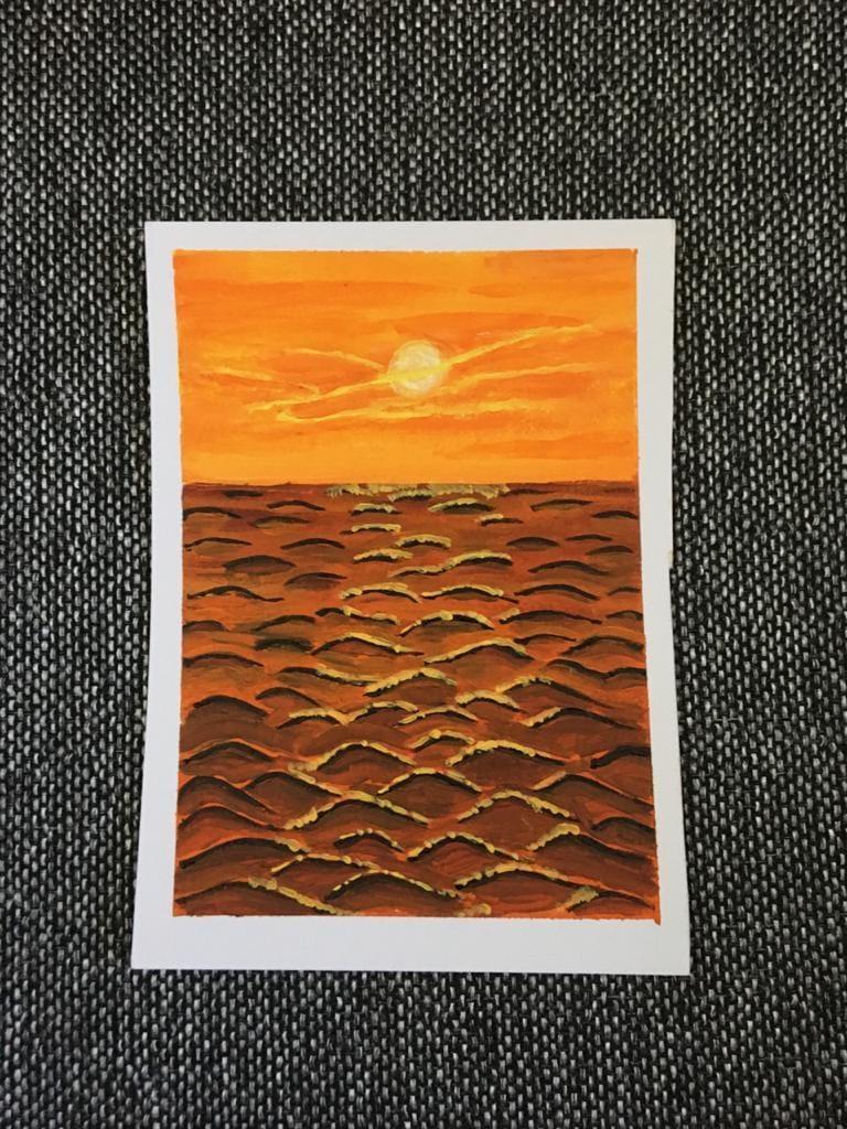Amazing Sunset tutorial - image 1 - student project