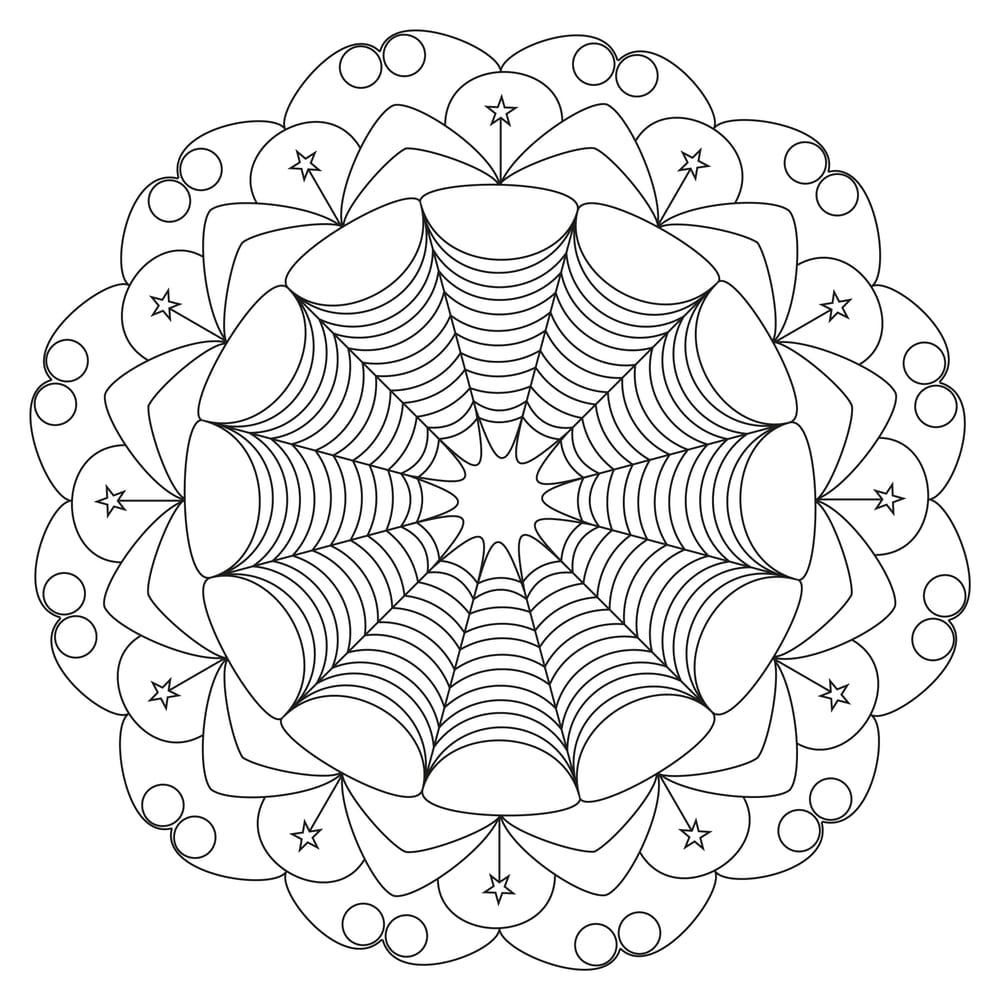 Beautiful mandalas - image 5 - student project