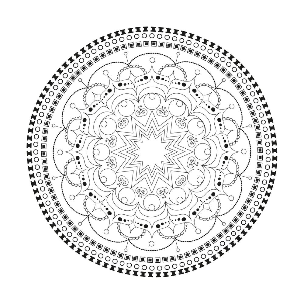 Beautiful mandalas - image 6 - student project
