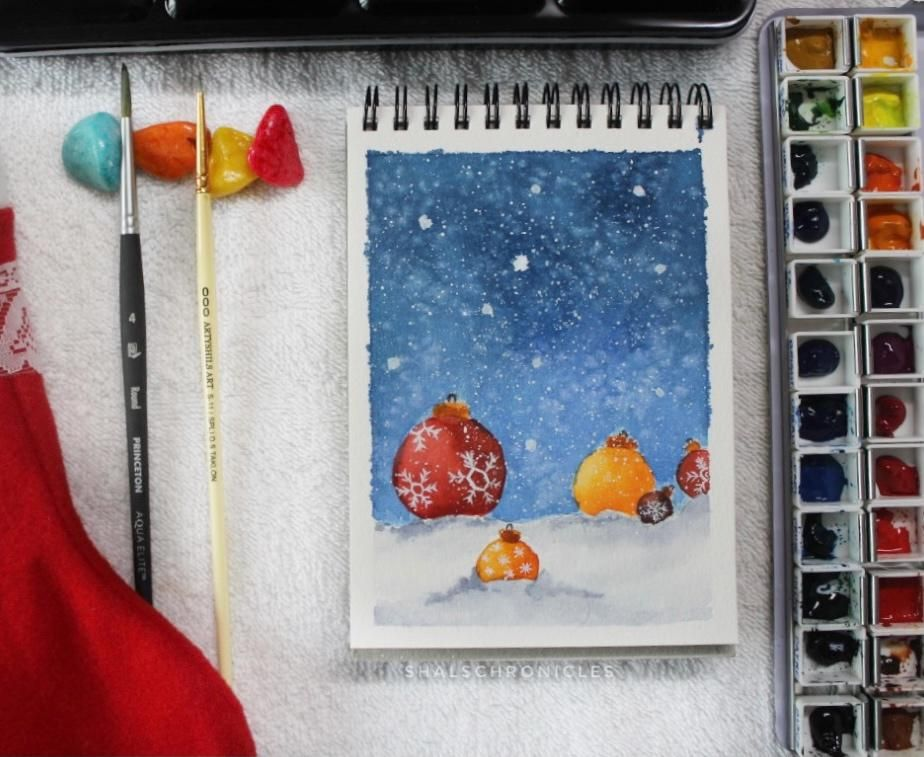 Christmas scenes - image 5 - student project