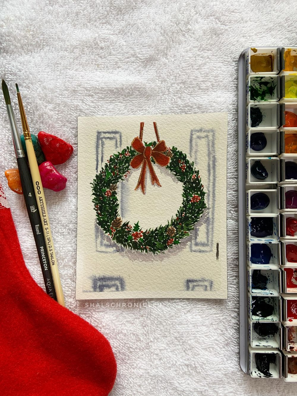 Christmas scenes - image 3 - student project