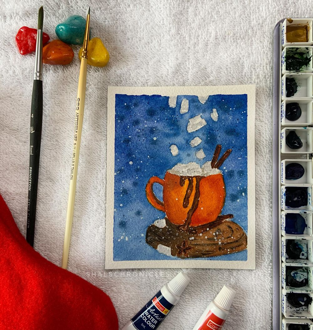 Christmas scenes - image 2 - student project