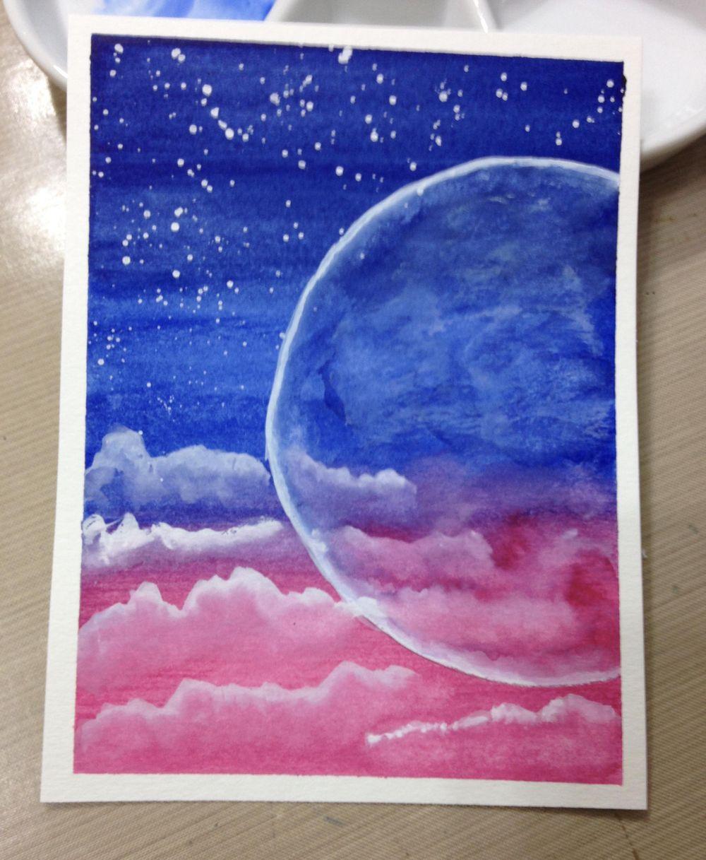 Luminous moon I - image 1 - student project