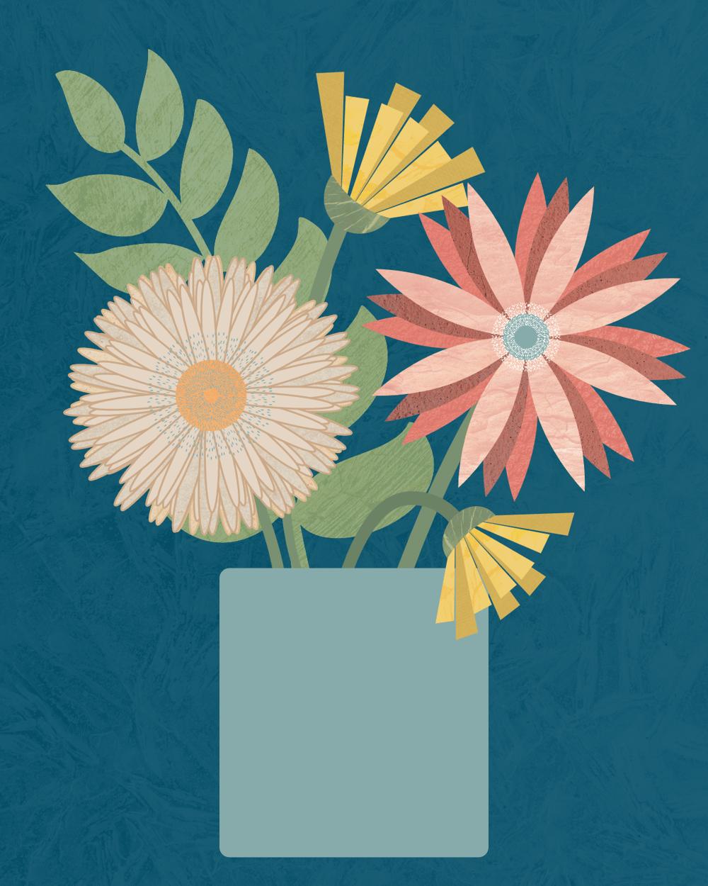 Florals in Affinity Designer - image 1 - student project