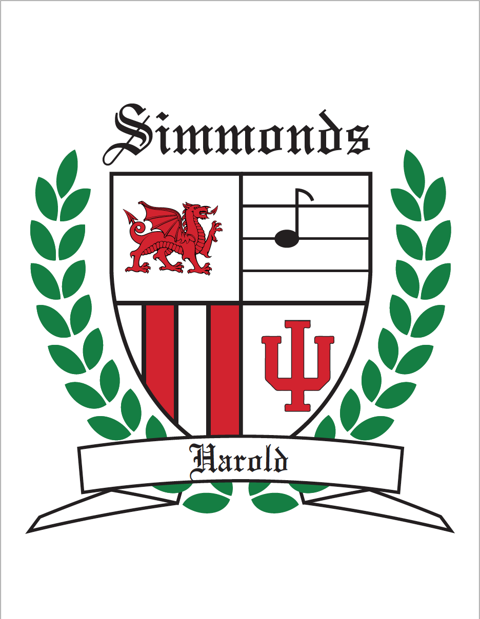 Simmonds Family crest - image 1 - student project