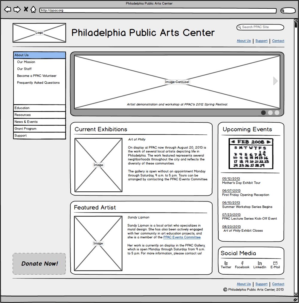 Philadelphia Public Arts Center - image 9 - student project