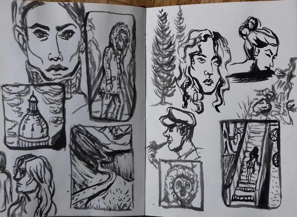 Fast Inking Exercises - image 1 - student project