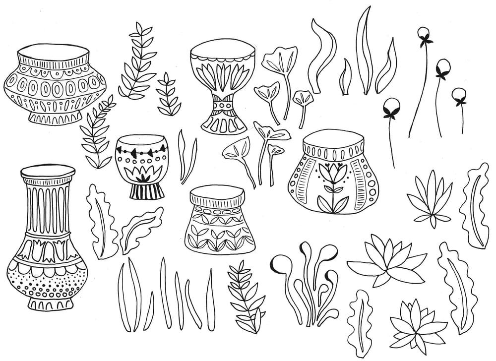 Flores y Macetas - image 1 - student project