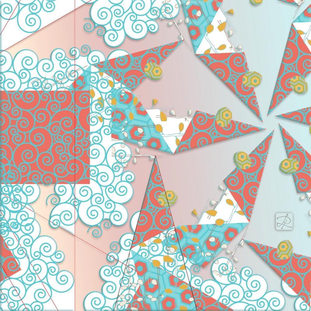 Flight of Fancy Mandala - image 4 - student project