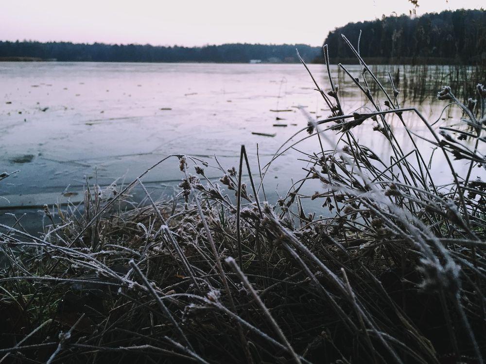 frozen lake at sunrise - image 9 - student project