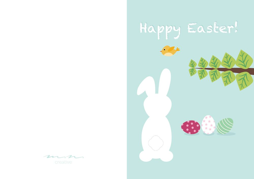 Easter card - image 1 - student project