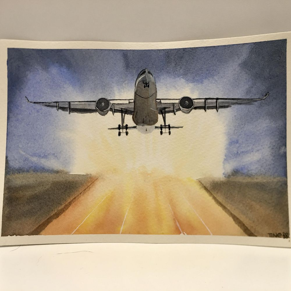 Airplanes by Tine - image 1 - student project