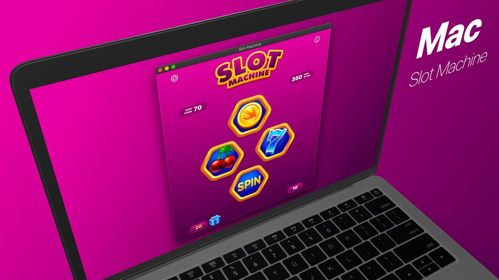 Slot Machine Game Your First macOS App with SwiftUI and Mac Catalyst - image 2 - student project