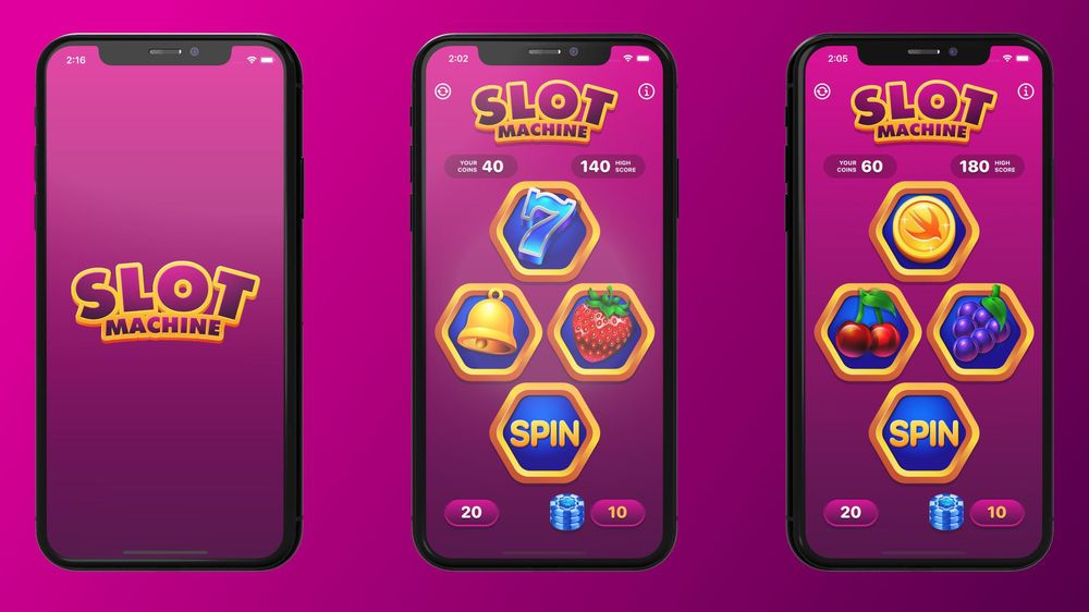 Slot Machine Game Your First macOS App with SwiftUI and Mac Catalyst - image 1 - student project