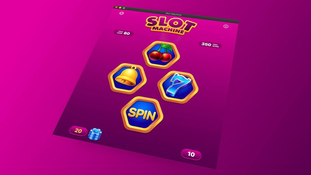 Slot Machine Game Your First macOS App with SwiftUI and Mac Catalyst - image 3 - student project
