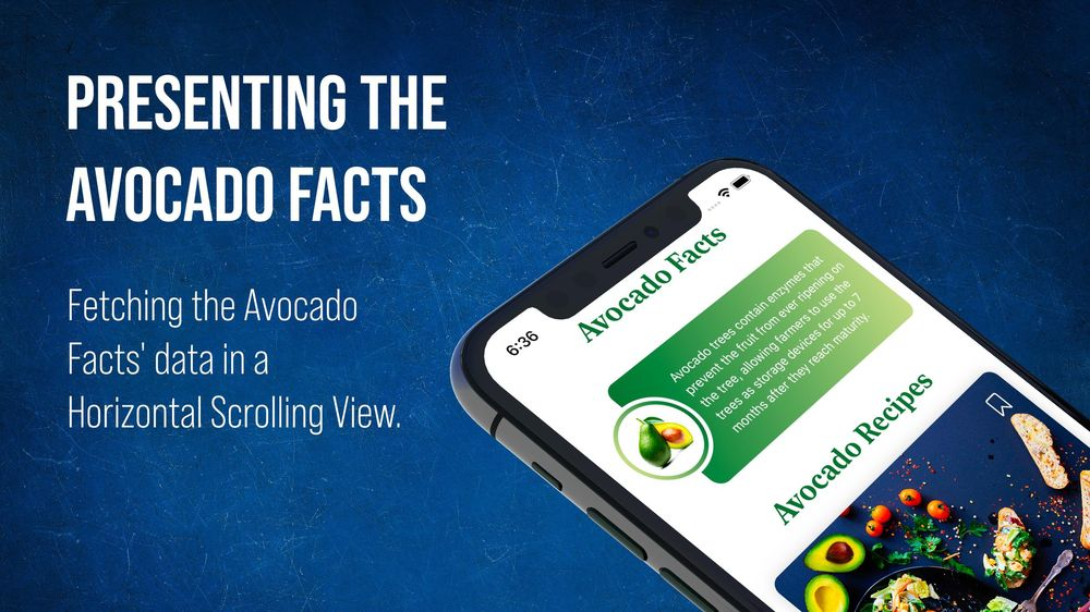 Avocado Recipes iOS 13 SwiftUI App Built in Xcode - image 3 - student project