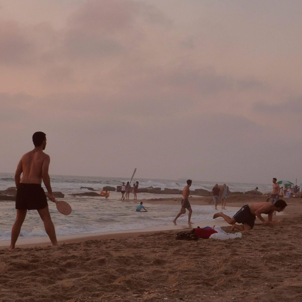 Sunset in Tel Aviv: As the sun sets, it's time for reflection on thoughts, fun with friends and one more nice walk with family. Live it!! - image 4 - student project
