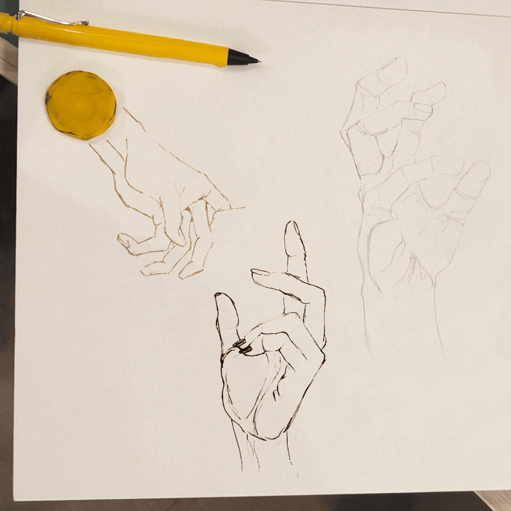 initial hand sketch - image 1 - student project
