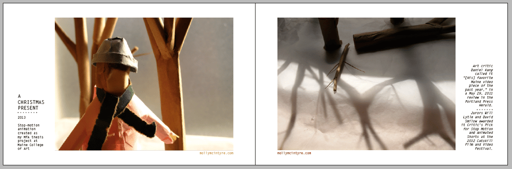 Portfolio Book - image 7 - student project