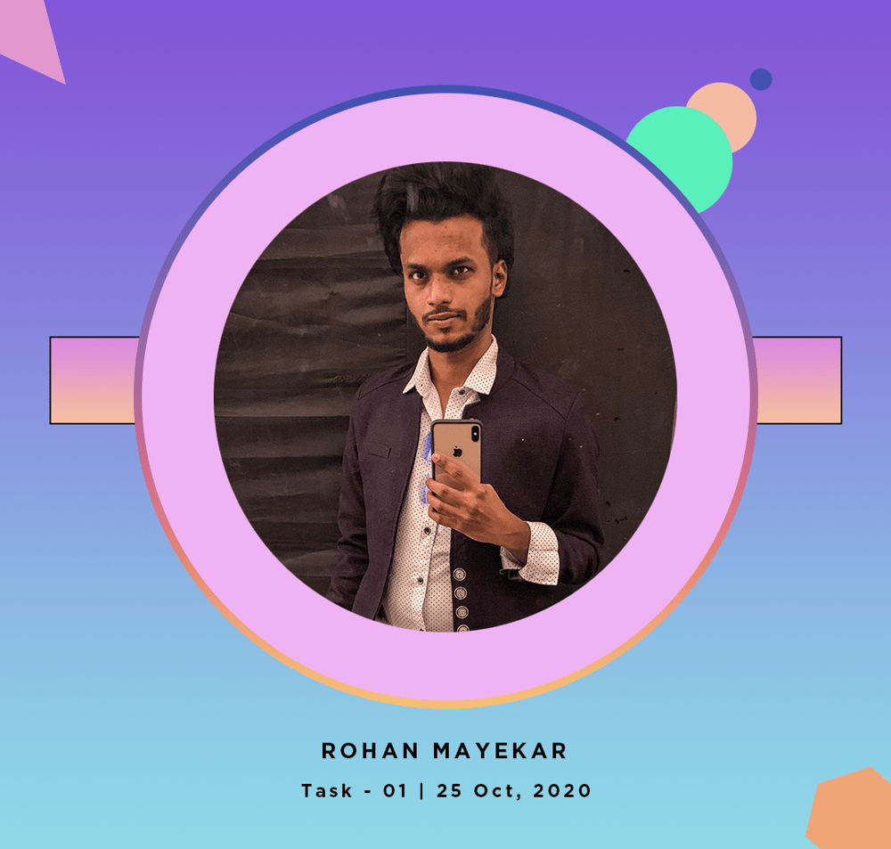 Rohan Mayekar - image 10 - student project