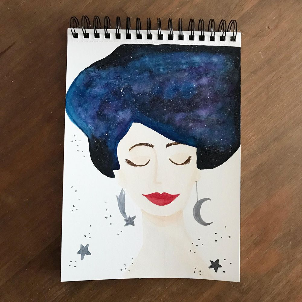 Whimsical portraits - image 2 - student project