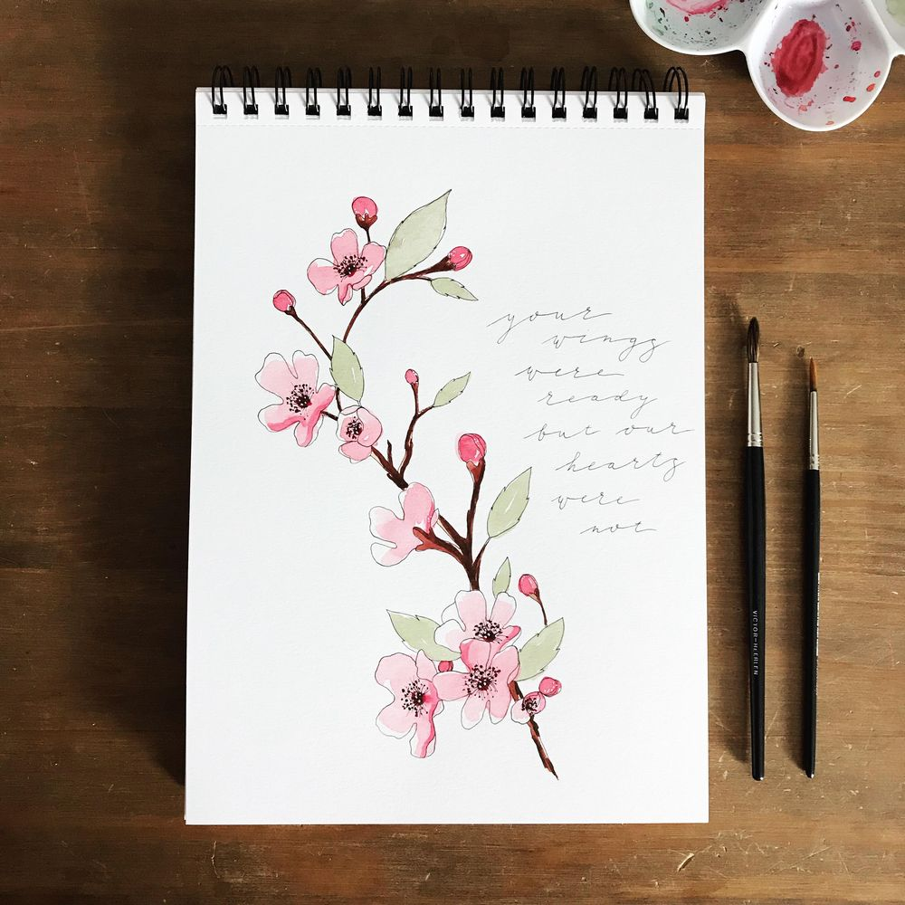 Spring blossom, 3 ways - image 3 - student project