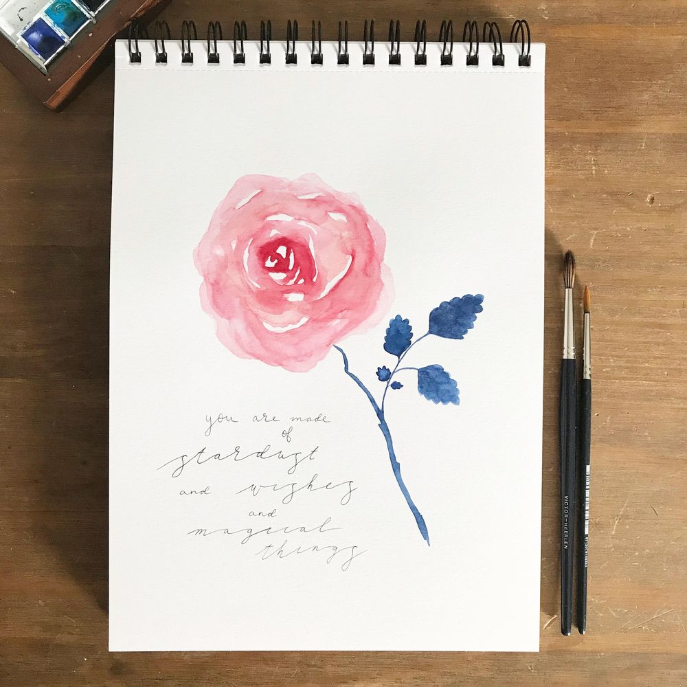 Roses, 3 ways - image 2 - student project