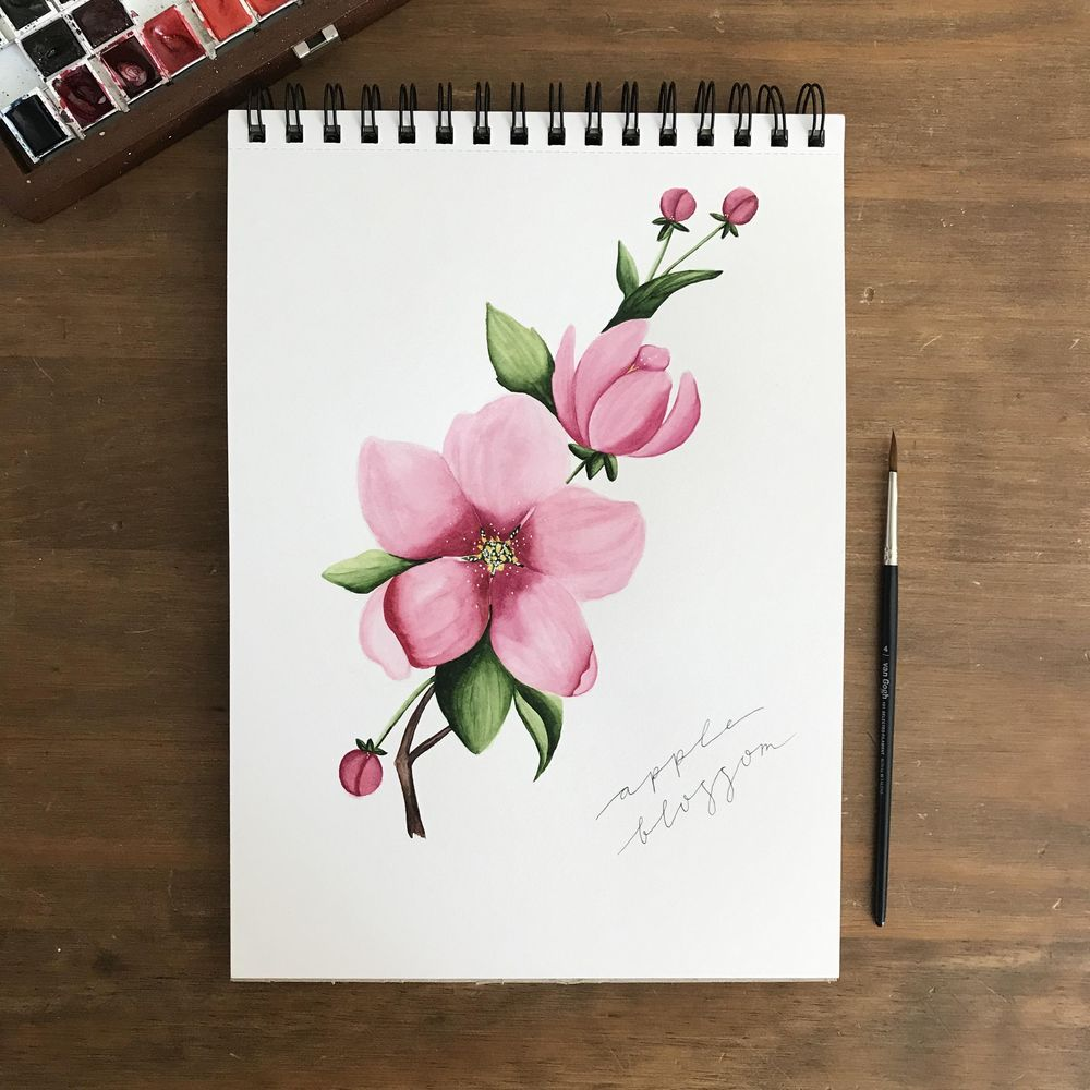 Spring blossom, 3 ways - image 1 - student project