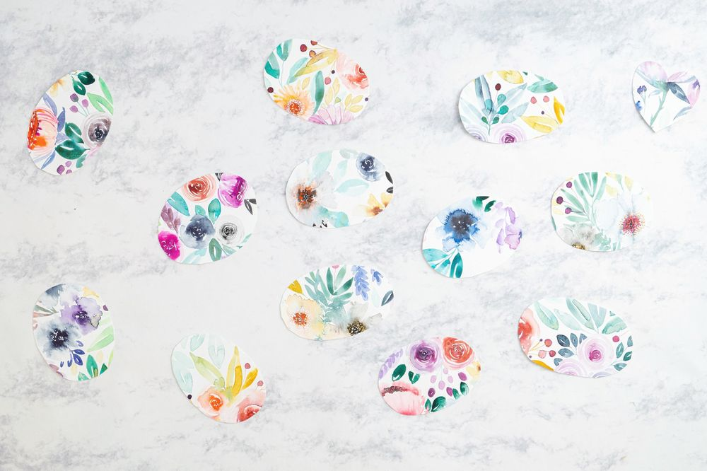 Loose Watercolor Florals - image 2 - student project