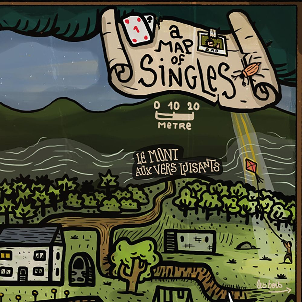 A map of Singles - image 6 - student project
