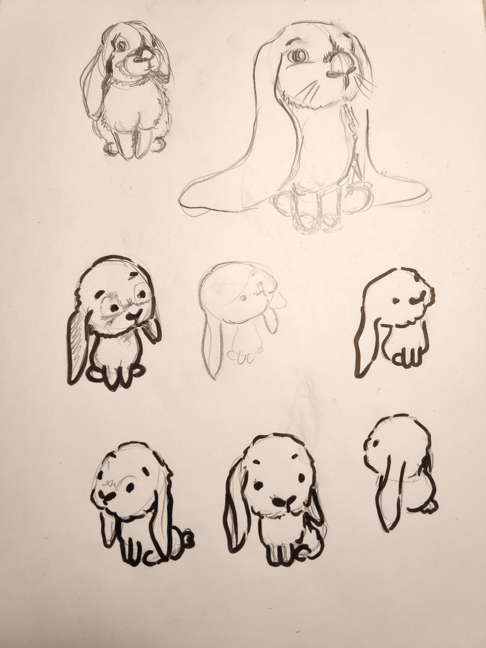 Stylized bunnies - image 2 - student project