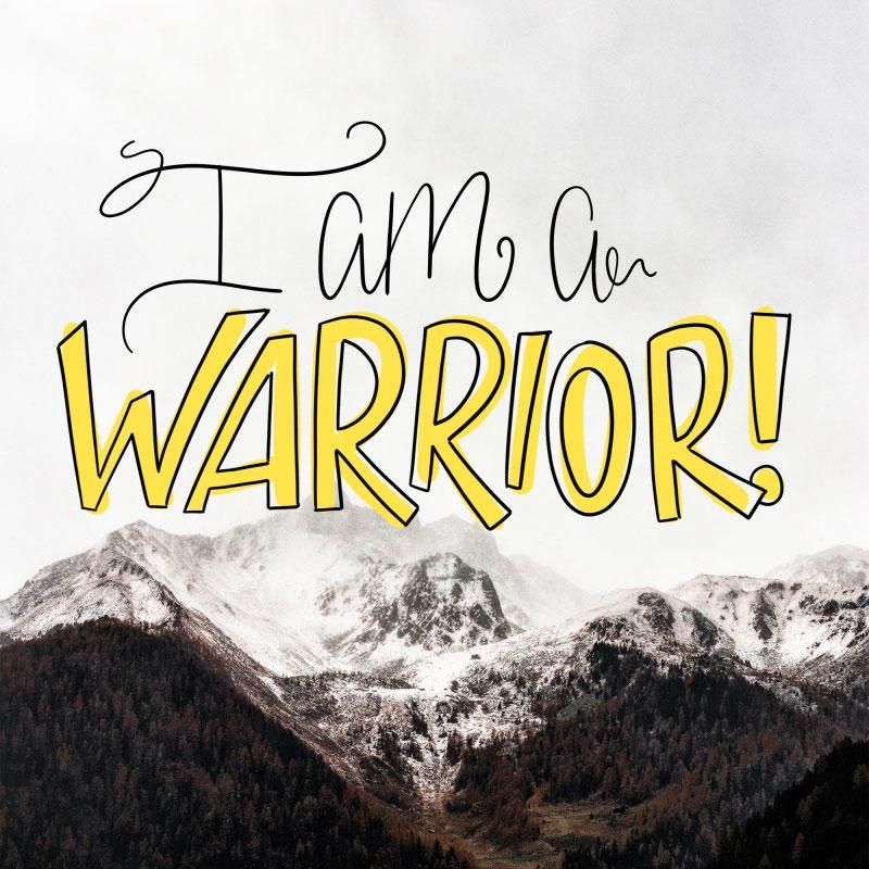 I am a WARRIOR!!! - image 1 - student project