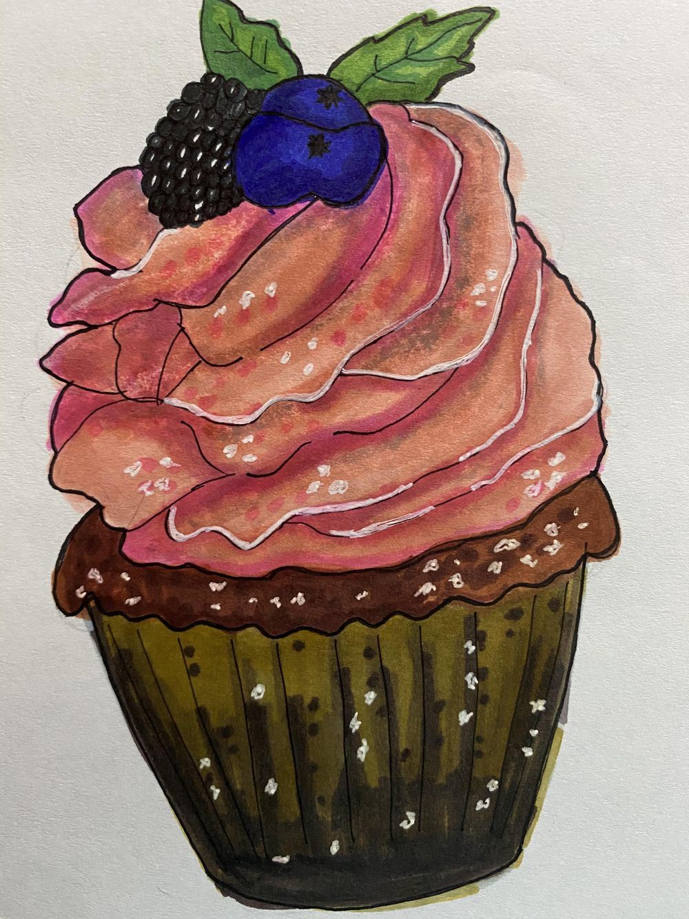 Pink Cupcake - image 1 - student project