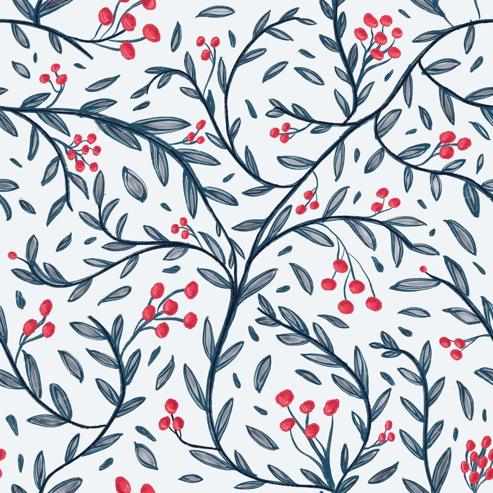 Pattern in procreate - image 1 - student project