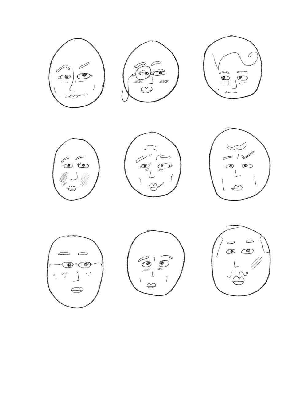 Fun Faces Exploration - image 1 - student project
