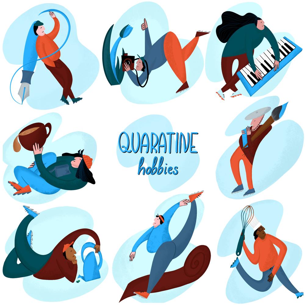 Quarantine hobbies - image 1 - student project