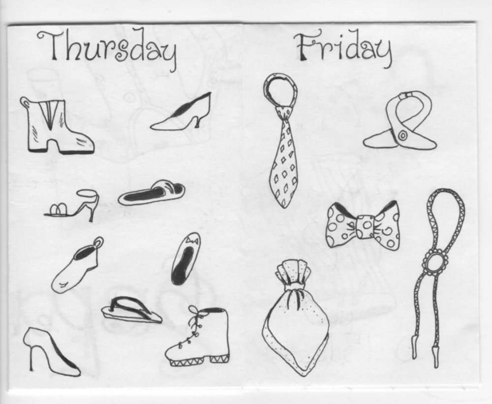 A Week Of... - image 4 - student project
