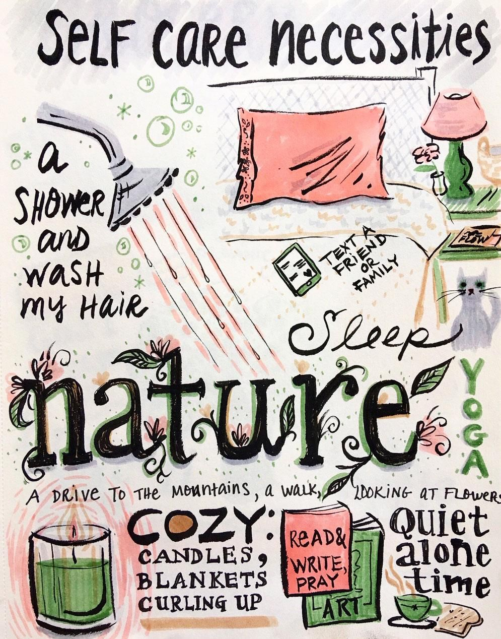 Illustrated Journaling: 14 Days of Prompts - image 9 - student project