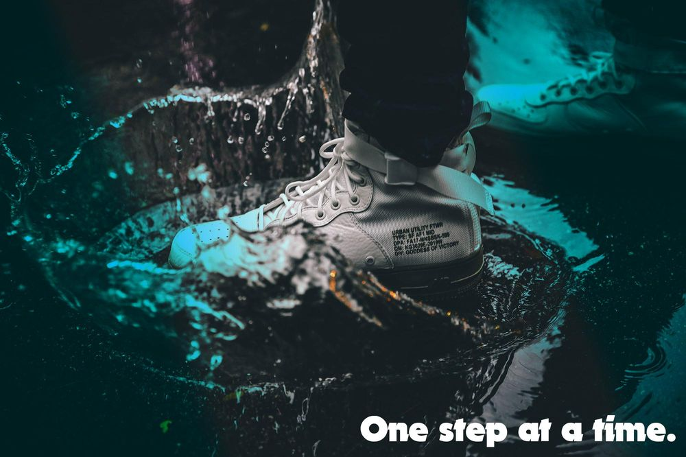 One step at a time - image 1 - student project