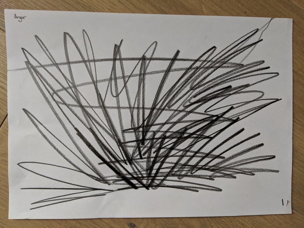 Emotions through lines - image 1 - student project
