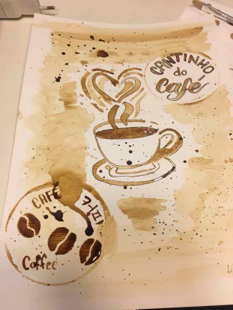 Coffee Painting Projects - image 1 - student project