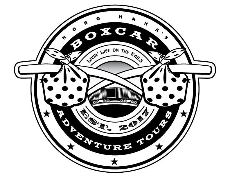 Hobo Hank's Boxcar Adventure Tours logos - image 2 - student project