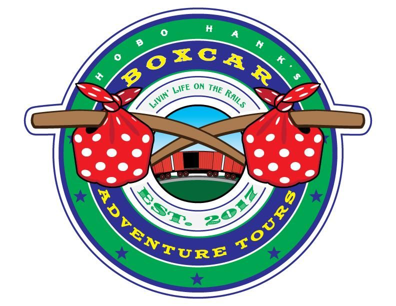 Hobo Hank's Boxcar Adventure Tours logos - image 4 - student project