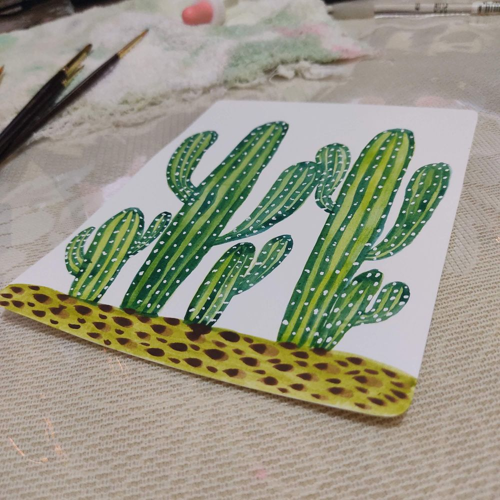 Cactus - Laura - image 2 - student project