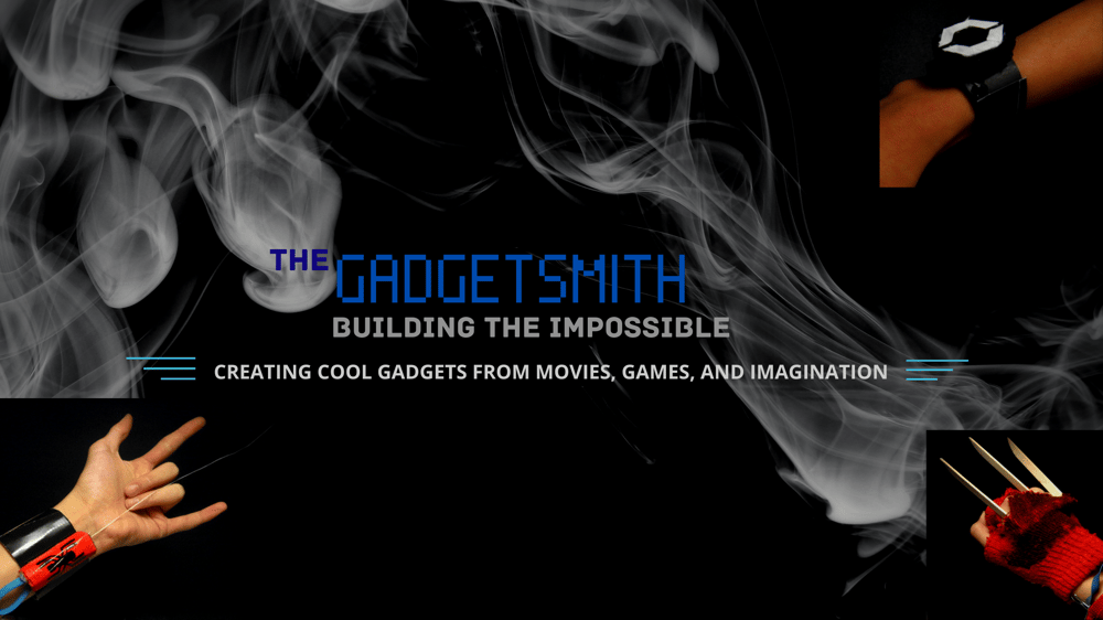 """""""The Gadgetsmith"""" Channel Art - image 1 - student project"""