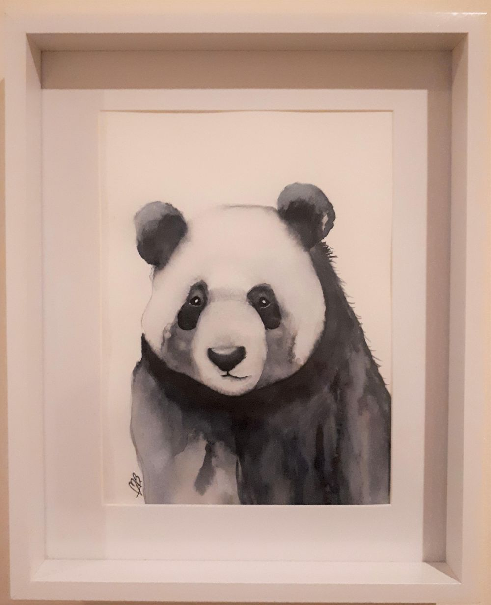 Little Panda Painting - image 1 - student project