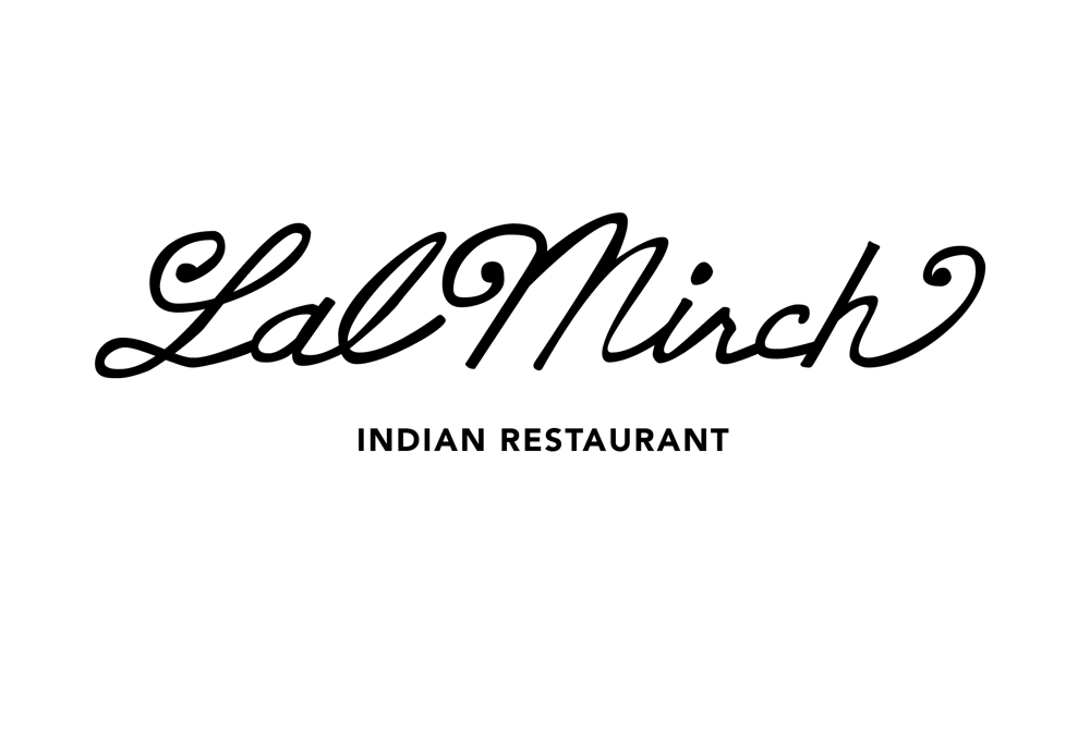 Learning Letterforms - Lal Mirch Indian Restaurant - image 5 - student project