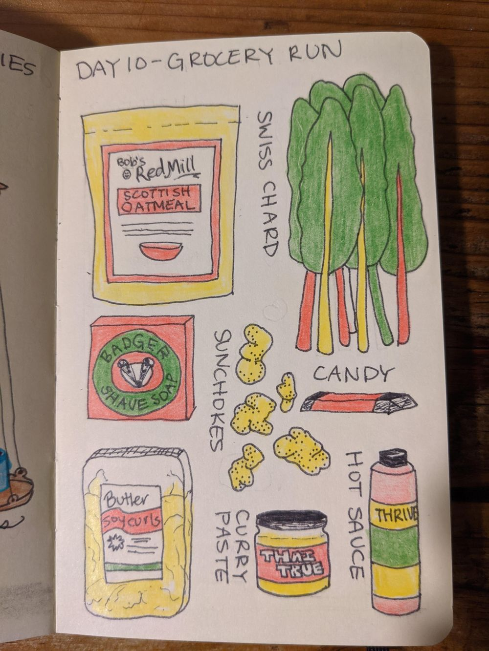 tessa (illustrated journaling 14-day) - image 10 - student project