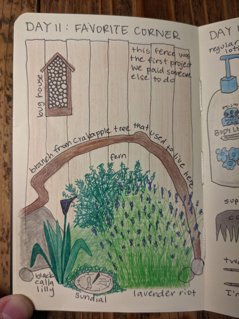 tessa (illustrated journaling 14-day) - image 11 - student project